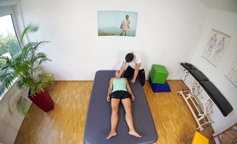 Physiotherapie Innsbruck mit Praxis in der Haller Straße für motorische Performance